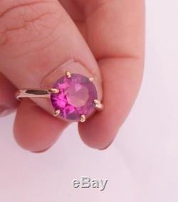15ct/15k gold 2.5ct Ruby solitaire Victorian ring, 625