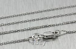 1920s Antique Art Deco Solid Platinum. 70ctw Diamond Sapphire Pendant Necklace