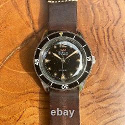 1959 Waltham (Blancpain) Bathyscaphe MC4 Vintage Dive Watch