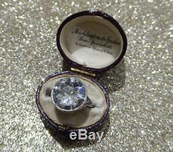 A huge Art Deco period 8.72ct Ladies diamond ring Unrepeatable bargain