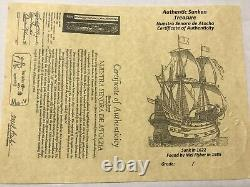 ATOCHA Coin Pendant Design Era 1600-1700 Sunken Treasure Shipwreck Coin Jewelry