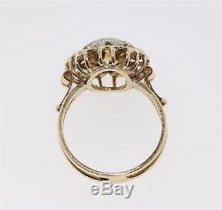 Antique Vintage 18k Yellow & White Gold 0.43 CTW Diamond Ring Appraisal