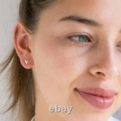 Bee Earrings 14K SOLID YELLOW GOLD