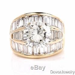 EGL 11.41ct Diamond 18K Yellow Gold Engagement Ring 12.8 Grams $103,500.00 NR