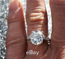 EXCEPTIONAL ANTIQUE 3.50ct OLD CUT DIAMOND SOLITAIRE. Fine Antique Diamonds