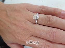 Exceptional 1 1/14 carat old cut diamond solitaire 18 carat gold ring