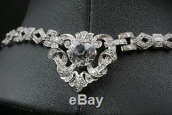 Mae West Celebrity Owned Platinum 23ct Diamond Necklace Bracelet Suite CO169