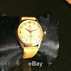 OMEGA SEAMASTER Vintage Perfect 18k gold