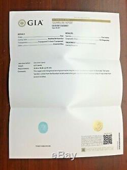 Paraiba Tourmaline Ring Diamond Natural Gold 14K GIA Certif 9.12CT RETAIL $13200