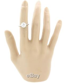 Tiffany & Co. Setting Platinum 2.03ct Solitaire Diamond Engagement Ring BP G8